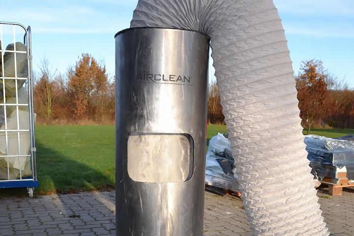 Abbildung Air Clean Staubabzugsmaschine